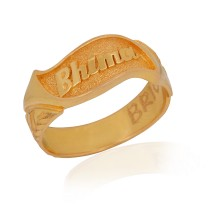 New Model Kerala Hindu Wedding Ring With Name Mypic Asia